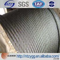 sisal rope Galvanized wire steel rope 8mm electric wire cable hs code