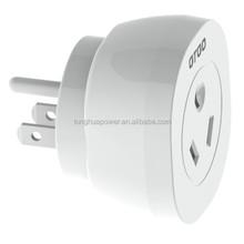 AU/NZ TO USA/EU/UK travel adapter Travel AC Power Plug Adapter