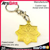 China professional factory metal star great shape promotion keychain