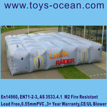 Fun Large inflatable laser tag arena maze for sale outdoor sport