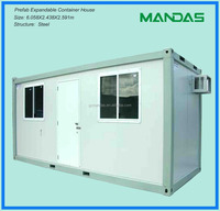 affordable prefab container hotel house