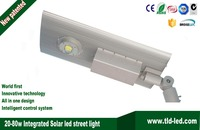Newest in season 20w integrated solar led street light