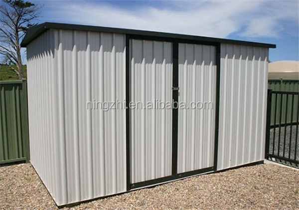 Metal shed prefabricated storage sheds with high quality for Aluminum sheds for sale