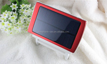 Universal travel Waterproof Emergency 10000mah solar power bank