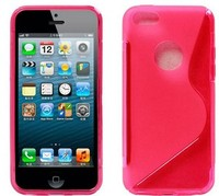 2013 New Arrival S Line TPU Gel Soft Case For iPhone 5C , For iPhone 5C Wave Line Soft Back Cover, Laudtec