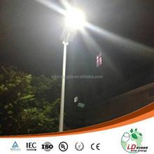 high performance integrated solar led street light ,solar garden light in factory price