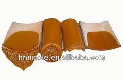 Shunfa Factory offer shingle clay roof tiles with handmade and clay