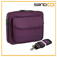 promotional 15.6inch purple laptop carrying case & brefcase