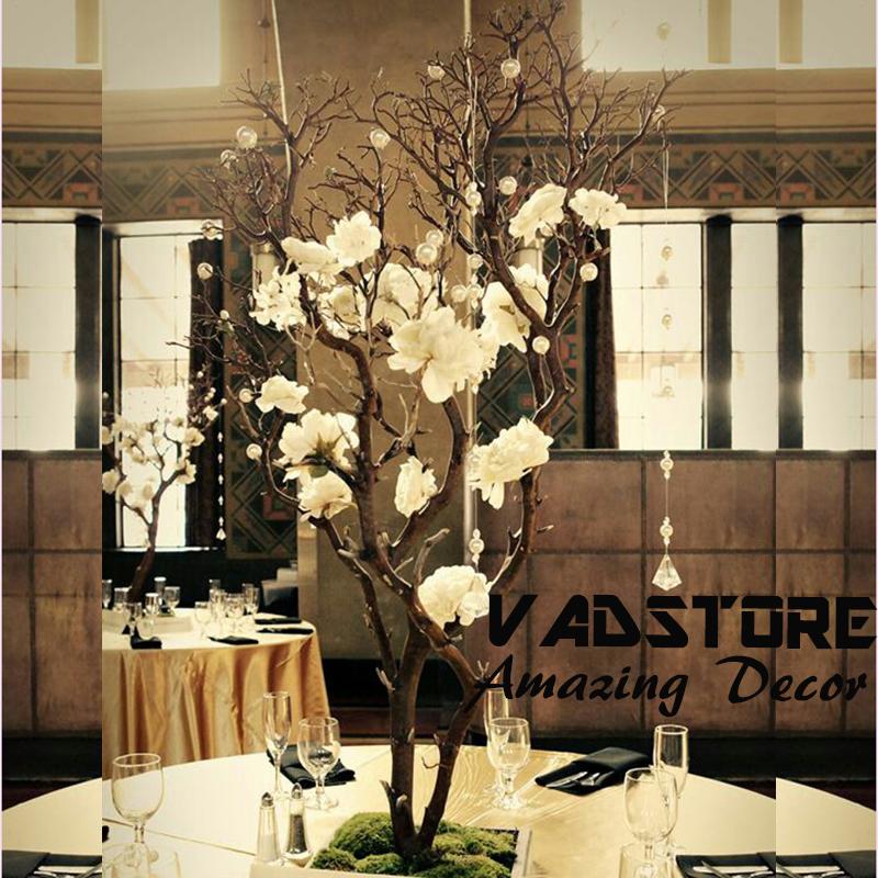 artifiical 흰색 커피 테이블 중앙 지점 트리 않고 leaveswedding 나무 ...