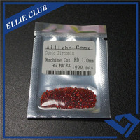 Machine Cut Round 1.0mm gem buyers garnet cz stone