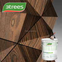 3TREES PU Polyurethane Gloss Sealer Paint For Wood