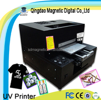 Digital Inkjet Flatbed UV Phone Case Printer with Embossment Effect