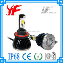FREE sample Stead quality super bright 40W for all cars led headlight factory wholesale new product motorcycle applied