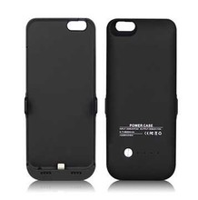 waterproof 5000Mah external battery cover for iphone 6 battery case