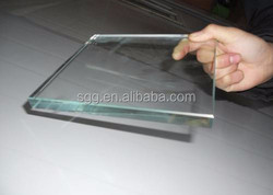 CE certified tempered glass and cut factory supply