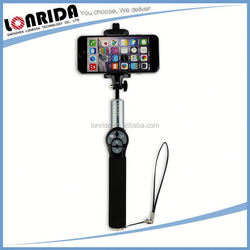 Low Cost Popular Portable Foldable Electronic Products 2015 Custom Selfie Stick