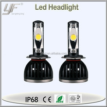 40w 6500k 3600lm h7 led headlight motorcycle, toyota daylight, Toyota led conversion kit