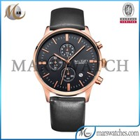 2015 wholesale 6 hands chronograph rose gold vogue watch