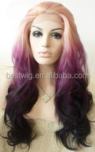 fashion new curly lace wigs for white women