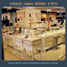 fashionable jewelry retail store furniture design with LED spot light