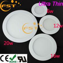 High power 6W Flat panel led ceiling light SMD3528 85-265V 450lm 48pcs