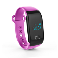 New designs health wrist OLED Touch Screen, hospital heart rate monitor Bluetooth 4.0 pedometer,sleep and alarm,calling reminder