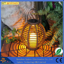 Home solar systems led light, camping solar led lantern for yard garden outdoor rattan light