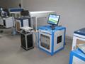 50w co2 laser máquina da marcação do metalóide fazendo plástico/garrafa/gravador de vidro
