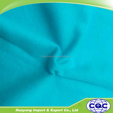 green blue red white soild dyeing cotton flannel fabric