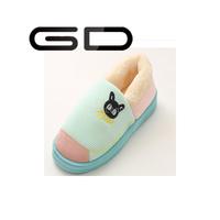 Cheap winter slippers quiet indoor mens slippers