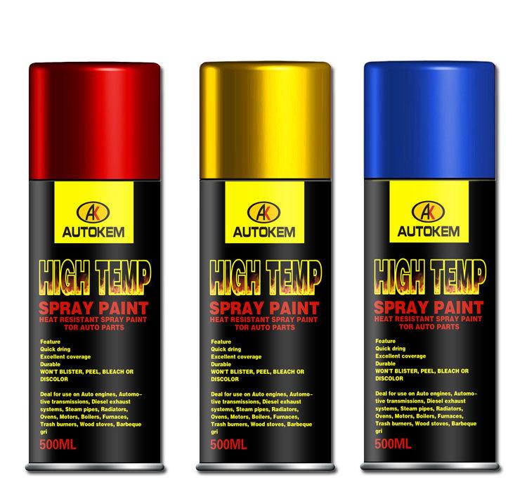 haute température pulvérisation peinture haute résistant à la