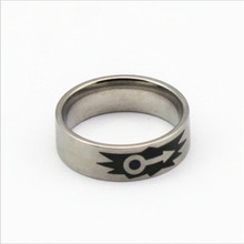 Yiwu Aceon blank ink laser engraved male sign ring