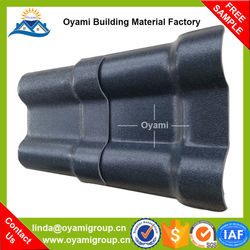 ASA coated low price asa synthetic resin roof tile for project