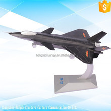 China J-20 collectible military aircraft scale model