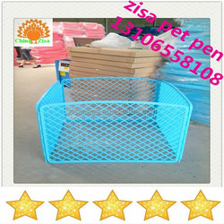 Environment protecting cheap dog pen dog cages