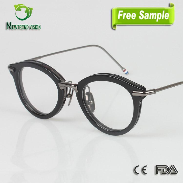 Japanese Eyeglass Frames : 2015 Fashion China Wholesale Round Eyeglasses Japanese ...