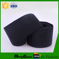 High Quality Wide Black Woven Elastic for Shoes