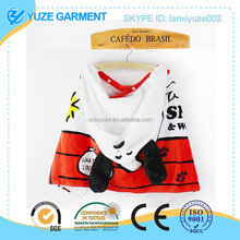 fancy 3D cartoon shaped children hooded bath towel OEM by China factory