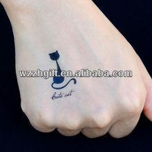 Vinyl Waterproof Temporary Body Tattoo
