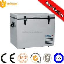 12v deep blast chest solar freezer, ice cream freezer box, dc 24v freezer