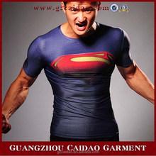 Good quality marvel cartoon super hero t-shirt