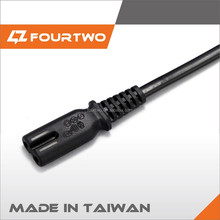 Yangyang with new design C7 plug rhodiukm plated C7 power plug 8 tails