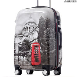 Polycarbonate trolley luggage