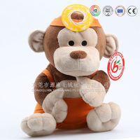 Christms Gifts Soft Plush Monkey, Customised Soft Monkey Toys, Soft Monkey Toys