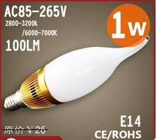 2014 hot sell E14 base high quality led candle