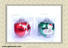 Wholsale fashionable Christmas ball for decorating Christmas tree