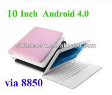10 pulgadas mini ordenador portátil 4.0 androide netbook para los niños