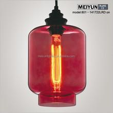 Italian design art glass pendant lighting