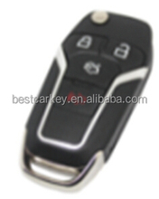 Topbest for ford key for focus ford key fob 3+1button 433mhz 4d63