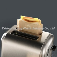 Reusable PTFE toaster bag for oven